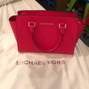 NWT authentic michael kors medium selma